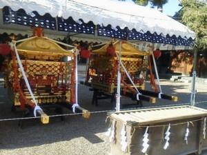 住吉大社の神輿