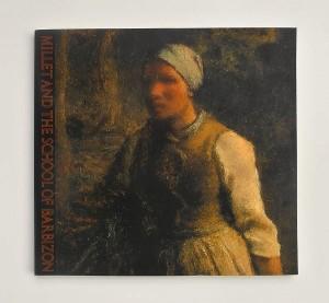 ミレーとバルビゾン派の世界展 : 印象派への序曲(1982)表紙・ミレー「水を運ぶ女」/西武美術館