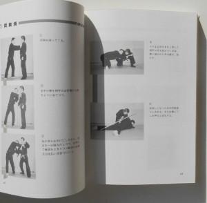 第2章 棒術の実際「1両胸捕」のページの一部より