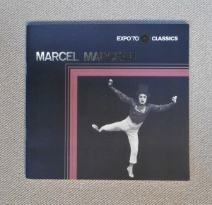 MARCEL MARCEAU(EXPO'70 CLASSICS SERRIES 8 ; 1970年)マルセル・マルソー芸術劇場プログラム