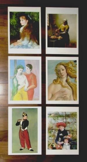 ルノワール<イレーヌ・カーン・ダンヴェール嬢の肖像>ほか