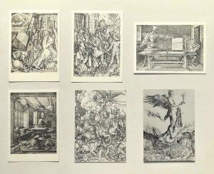 デューラーとドイツ・ルネッサンス展(1972)・絵はがき(D)-「メランコリアⅠ」ほか