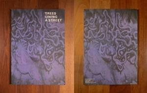 """尾崎豊コンサートパンフレット""""TREES LINING A STREET""""CONCERT TOUR 1987ほか"""