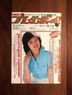 週刊プレイボーイ(1979年6月12号)No.24