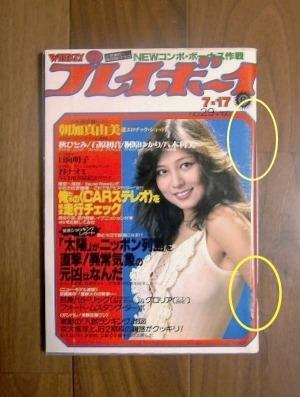 週刊プレイボーイ(1979年7月17号)No.29 ; 表紙モデル=樹れい子ほか